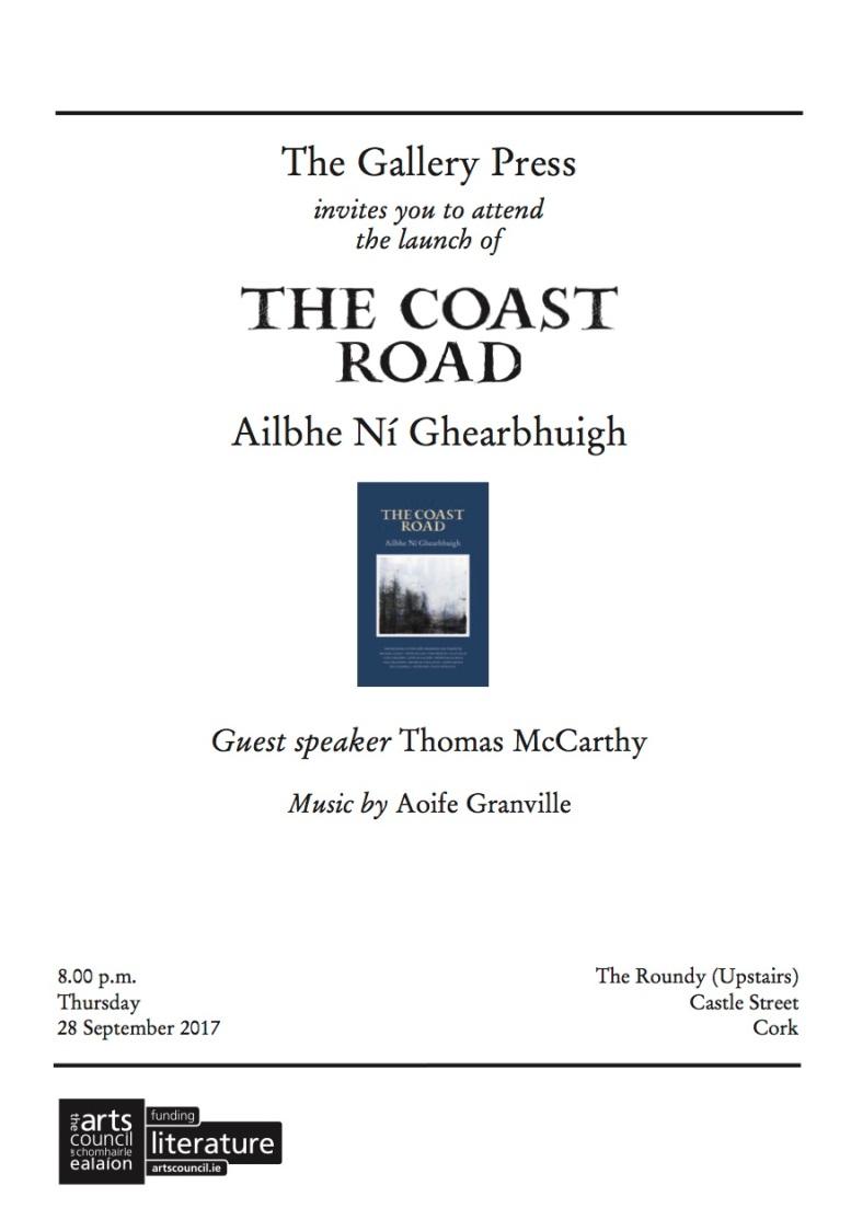 Ailbhe Ni Ghearbhuigh Invitation - Cork 2017